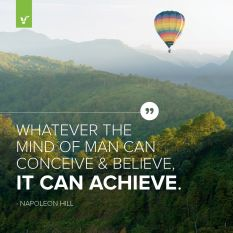 Belive it achieve it